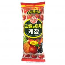 """Кетчуп с фрукт. и овощ. """"Оттоги"""" 280гр Корея"""