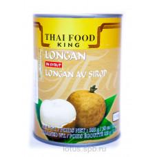 Лонган в сиропе Thai Food King ж/б, 565г