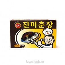Паста из черный соевый бобов ЧжунЧжан 300гр