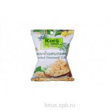 Кокосовые натуральные чипсы KING ISLAND 40гр Тайла