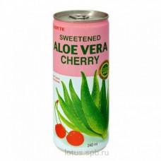 Напиток Lotte Алоэ вишня 240мл