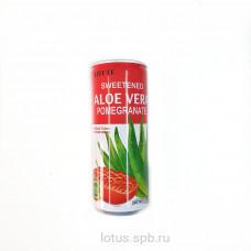 Напиток Lotte Алоэ гранат 240мл