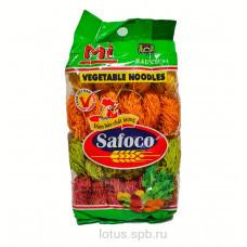 Пшеничная овощная лапша Vegetable Noodles (тонкая) SAFOCO 500гр Вьетнам