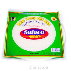 Рисовая бумага 22см SAFOKO в инд/полиэт.пак300г(1кор20ш)