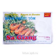Рисовые лепешки сушеные SA GIANG (коробка) 200гр