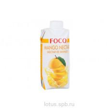 "Нектар манго ""FOCO"" 330мл Tetra Pak"