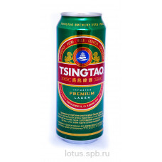 "пиво светлое ""Циндао"" пастеризованное"