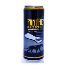 """Пиво темное пастеризованное фильтрованное """"Пантер"""" Черное"""