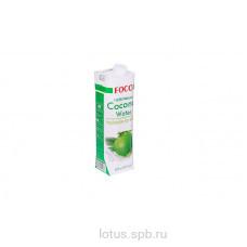 """Кокосовая вода """"FOCO"""" 1л Tetra Pak"""