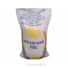 Кубанский рис первый сорт ГОСТ 25 кг.