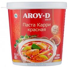 """Паста """"Карри красная"""" AROY-D 400 г, пл/б"""