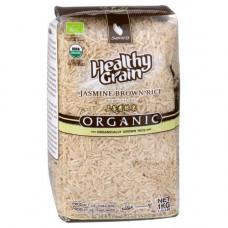 Органический тайский коричневый рис жасмин SAWAT-D 1кг