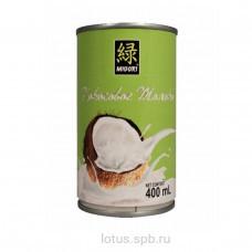 Кокосовое молоко 7% ж/б Мидори 400мл