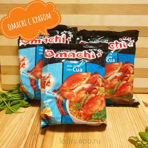 Вьетнамская лапша omachi со вкусом краба